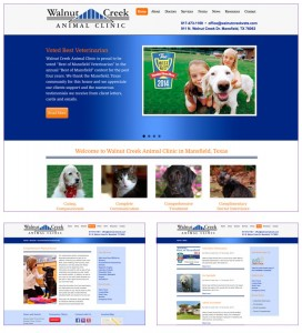 Veterinarian Website Mansfield TX